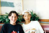 ホストファミリーとして受け入れたピーターくんとお出かけ 1997年9月21日