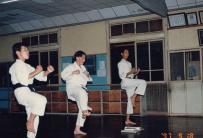 家族旅行で訪れた姫路城 1997年1月4日