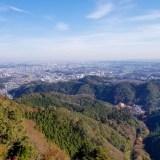 秋の日帰り高尾山ハイキング②~琵琶滝から1号路霞台へ~