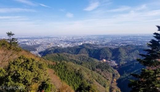 【秋の日帰り高尾山】その2~琵琶滝から1号路霞台へ~