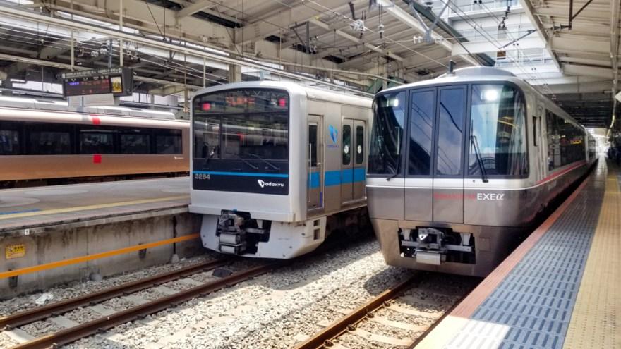新百合ヶ丘駅5番ホーム