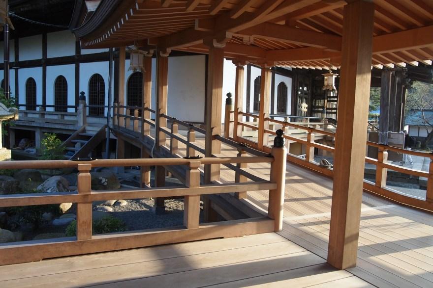 光明寺回廊