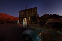 Garage light painted; Nelson Ghost Town, NV; X-T1 10-24 by bill fortney