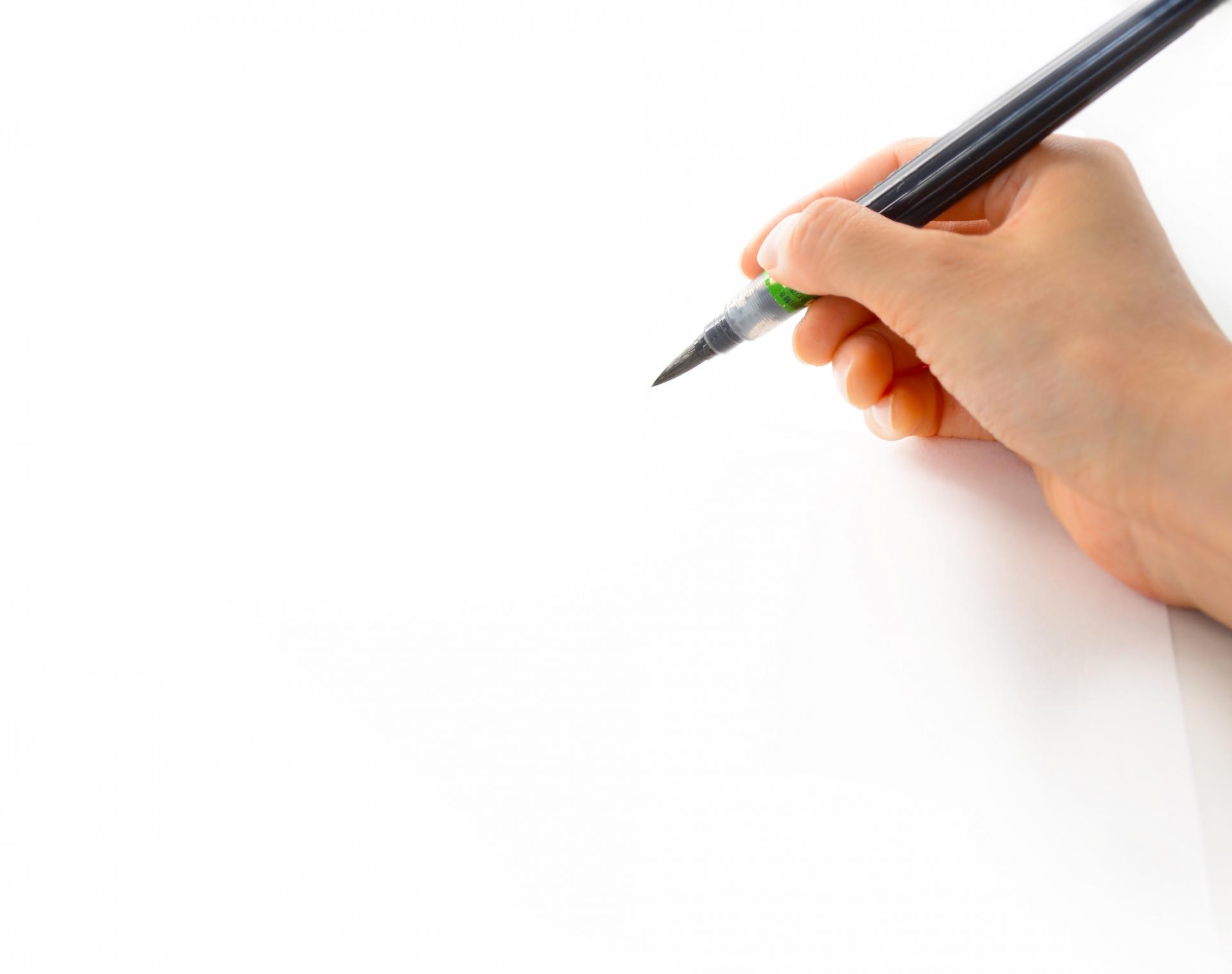 字が綺麗な男性は好感度もアップ!大人の綺麗な字が書けるコツ