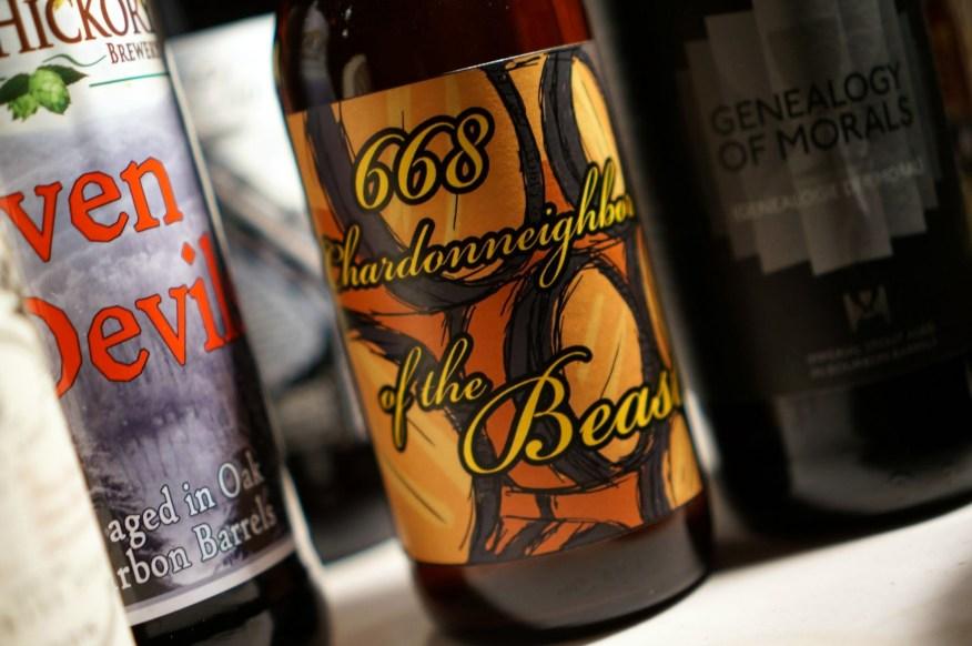 New England Brewing Company Chardonneighbor of the Beast