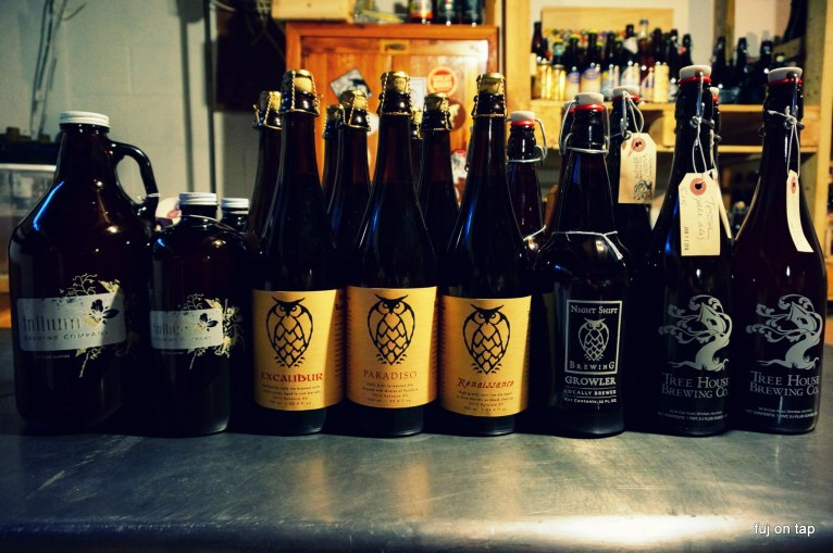 January 2014 MA Beer Haul