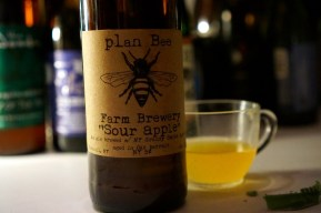 Plan Bee Farm Brewery Sour Apple