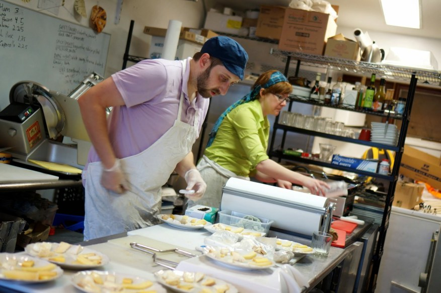 Cheese 101 Prep at The Cheese Traveler