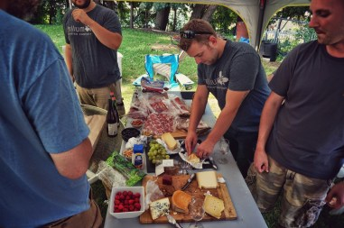 Cheese and Charcuterie at Gueuzepalooza