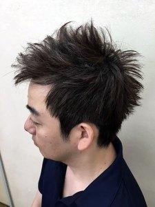 柴田黒髪メンズ1image1