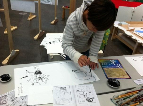 hokusai workshop