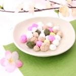 ひな祭りのお菓子ひなあられの意味。簡単レシピと上手な飾り方