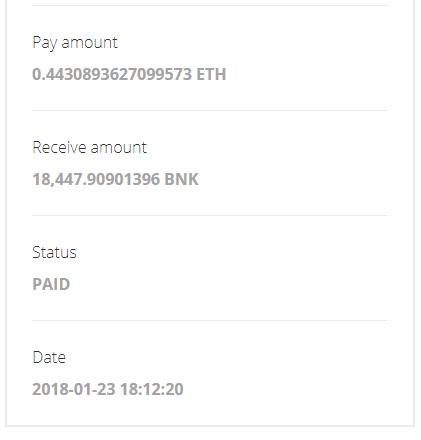 Bankera BNK ICO