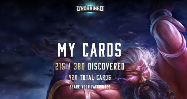 GODS UNCHAINED カードバトル