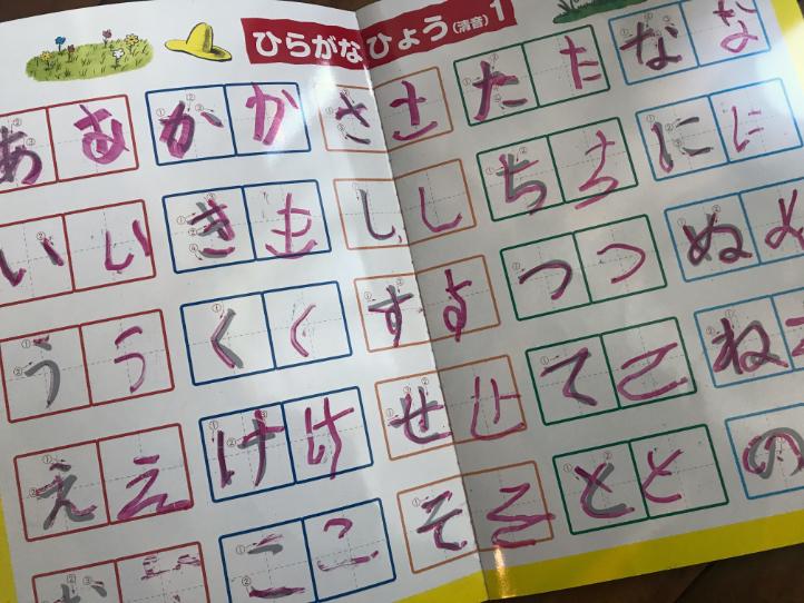 3歳4歳〜ひらがなの読み・なぞり書き練習に使ったおもちゃ(グッズ)3選