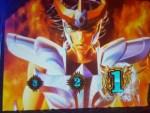 【パチスロ 聖闘士星矢 海皇覚醒】GBバトル中に強チェ引いたら即前兆からの黄金バトルに発展し大好きなゴールドセイントが奮戦!
