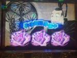 【パチスロ 黄門ちゃま喝】家康降臨準備中に喝ナビ発生で確率1/5040の1/2レア役「紫紅炎モード」に突入した結果!