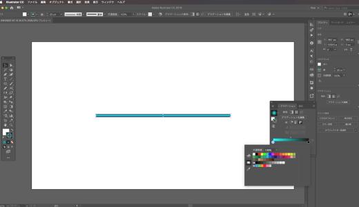 【IllustratorCC/CS6】線にグラデーションをかける方法と活用方法は?