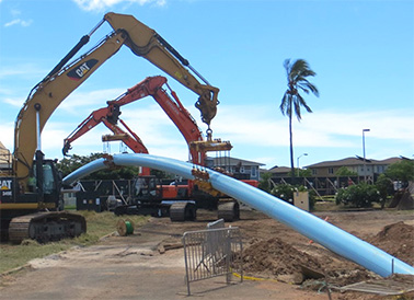 Pipe Insertion Site