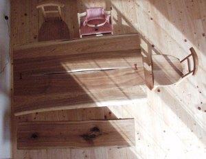 胡桃ダイニングテーブルセット