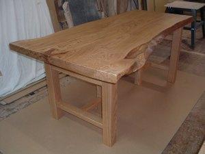 栗一枚板ダイニイングテーブル