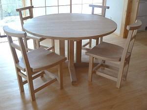 丸テーブルセット
