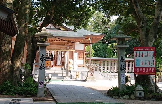南区「高宮八幡宮」は何処となく感じる優しい存在感と、静穏な雰囲気に心が洗われる癒しの場所