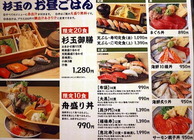 あきんどスシローグループが手掛ける大衆寿司居酒屋「鮨・酒・肴 杉玉」口コミは評判は?