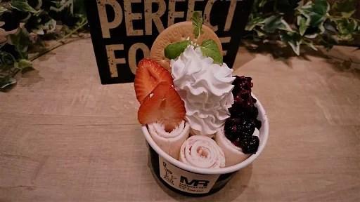 【原宿の人気店ニューオープン】MR マンハッタンロールアイスクリーム