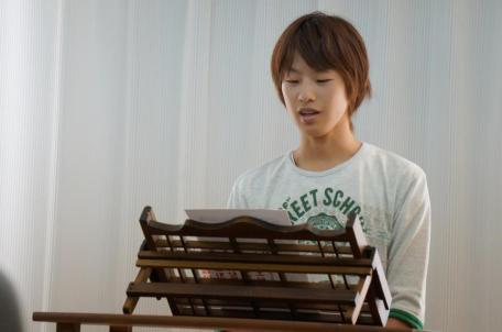 F君。まだ知らない神に導かれて壱岐から福岡の大学へ。 そこで福音を聞き、キリストと出会いました。