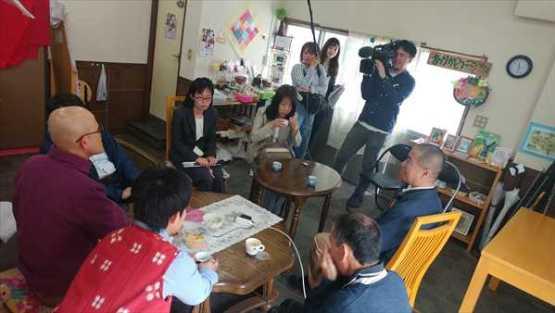 関西テレビ放送「報道ランナー」特集 取材の様子