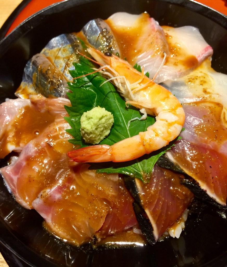 てら岡 海鮮丼 ゴマダレ