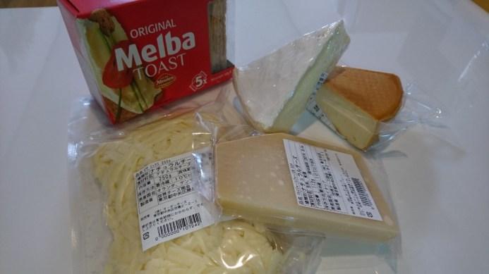 チーズセット内容