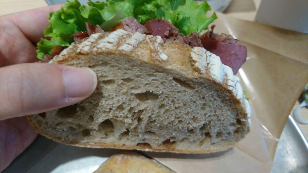 ライ麦サンド パストラミ