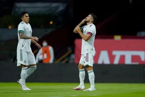 México vs Guatemala 3-0 Amistoso Septiembre 2020
