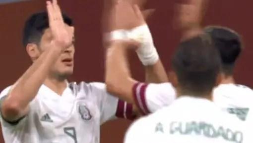 Gol de Penal Raúl Jiménez México vs Holanda 1-0