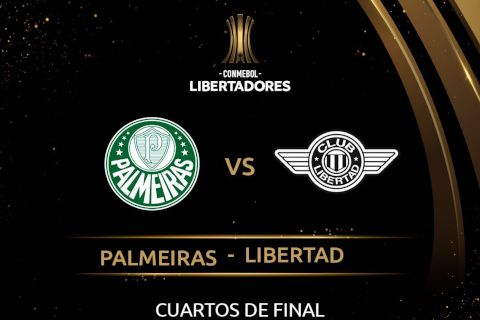 Palmeiras vs Libertad