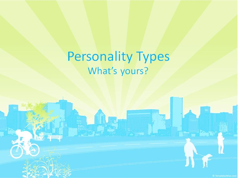 Lesson of the Week: Myer-Briggs Personality Test (club class)