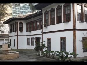 A large historic villa in Tirana, Albania
