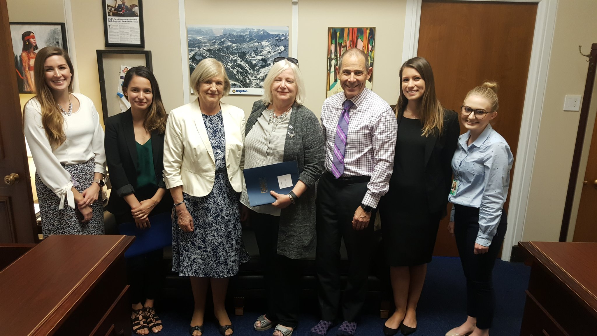 May 2018 Advocacy Day visit
