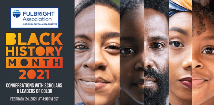 Black History Month 2021: Conversations with Scholars & Leaders of Color