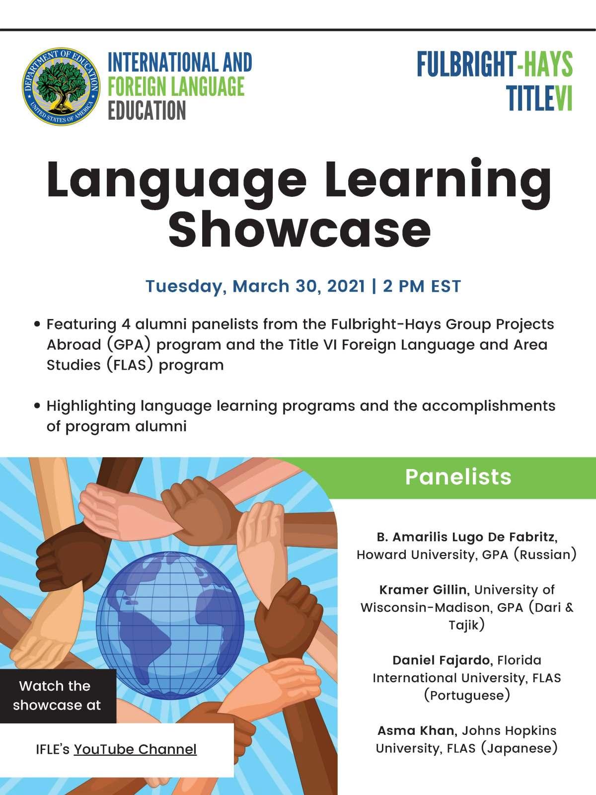 Language Learning Showcase