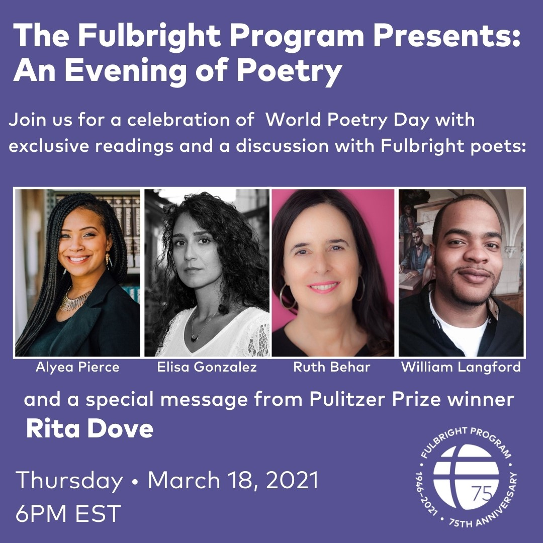 The Fulbright Program Presents: An Evening of Poetry