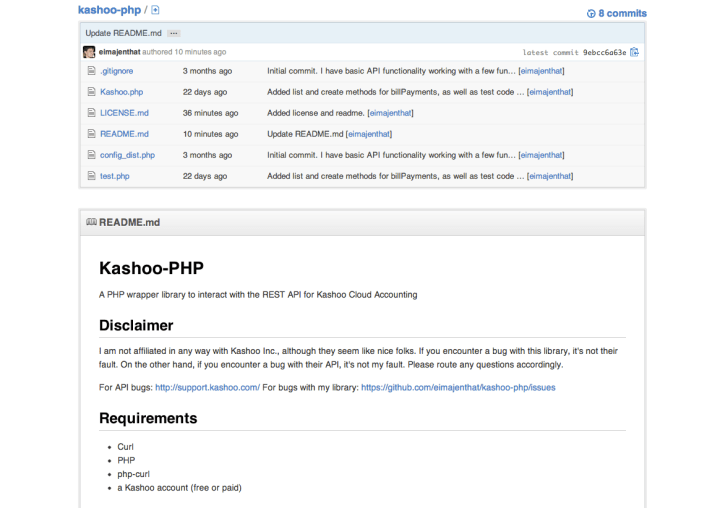Project Profile: Kashoo PHP