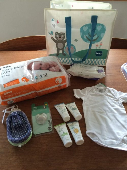 Baby startpakke fra føtex