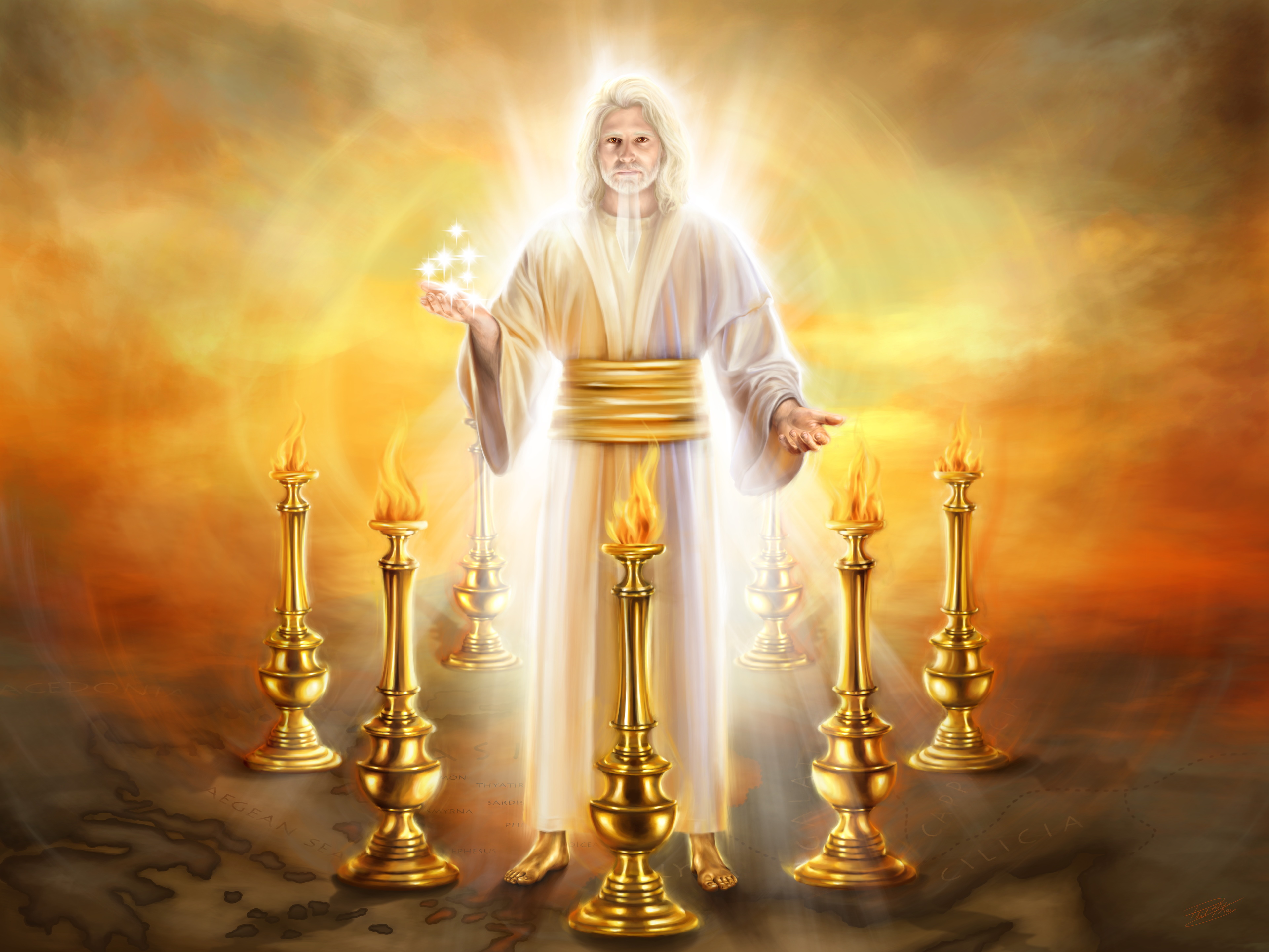 The Seven Golden Lampstands - A Solemn Warning for All Churches -  Fulfilling the Promises