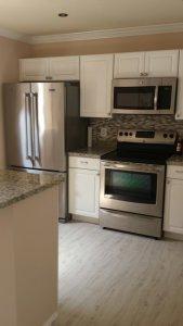 Rental property kitchen
