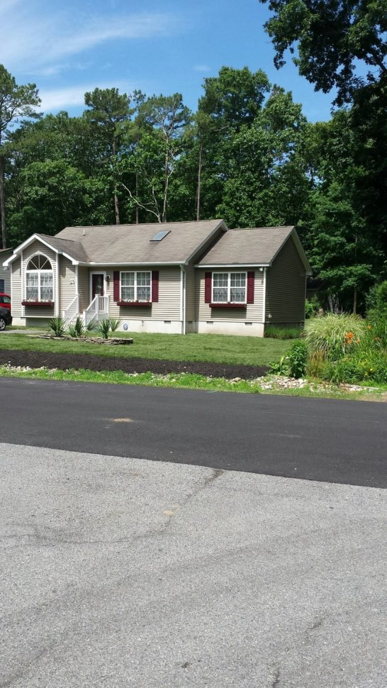 Front of rental property