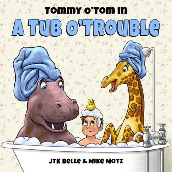 Tommy O Tom in a Tub o Trouble Cover Art