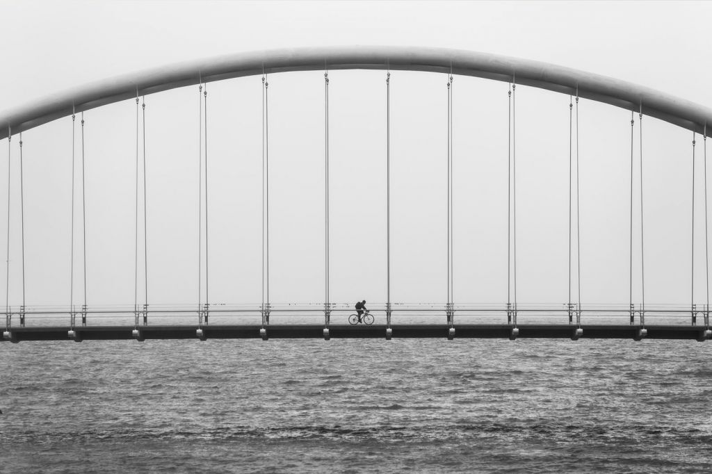 BRIDGE CYCLIST
